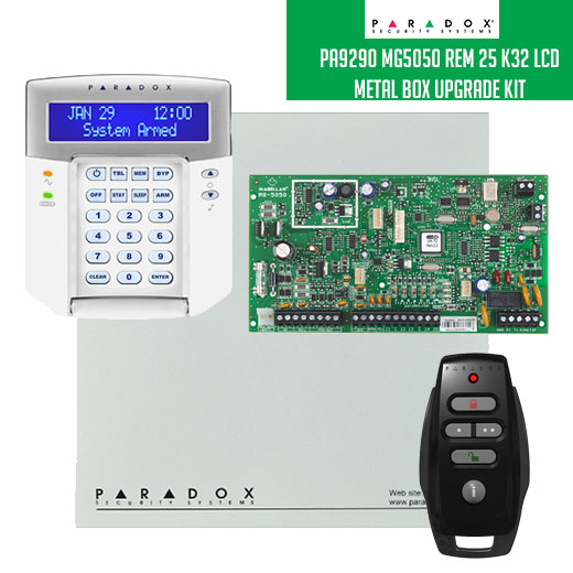 Security Wholesalers Pa9290 Mg5050 Rem 25 K32 Lcd Metal