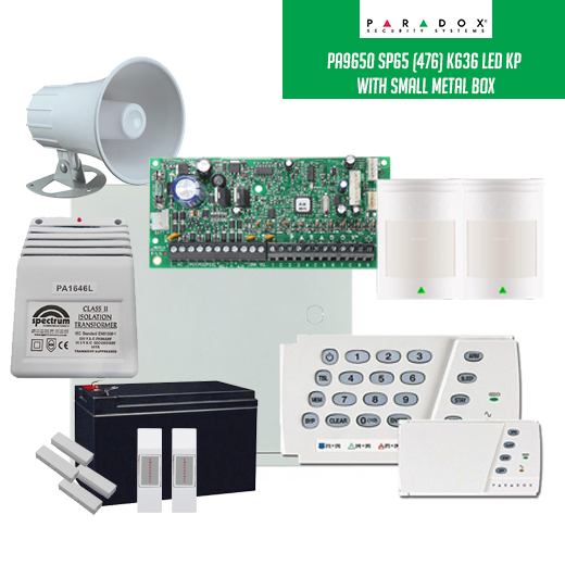 Security Wholesalers Pa9650 Sp65 476 K636 Led Full Kit